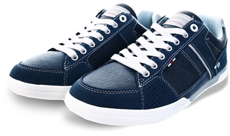 Lloyd & Pryce Navy Adison Pu Trainer  - Click to view a larger image