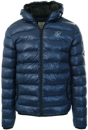 Siksilk Navy Atmosphere Jacket  - Click to view a larger image