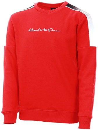 Kings Will Dream Red Junior Coreside Fleece Sweatshirt  - Click to view a larger image