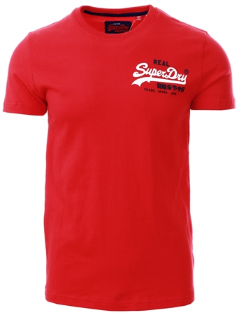 superdry t shirt red