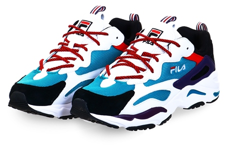 Fila Blue / Red Ray Tracer Trainer  - Click to view a larger image