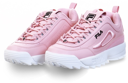 Fila Pink Disruptor 2 Trainers  - Click to view a larger image