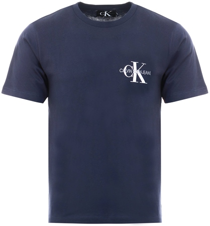 Calvin Klein Night Sky Embroidered Logo T-Shirt  - Click to view a larger image