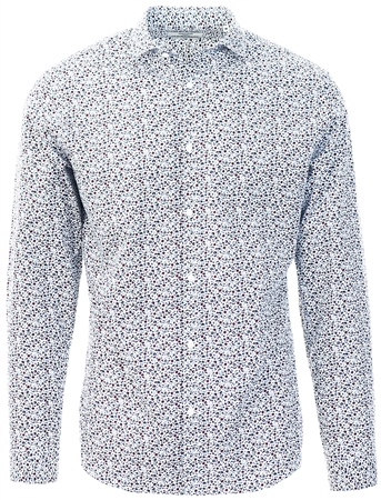 Jack & Jones White Blackburn Button Up Shirt  - Click to view a larger image