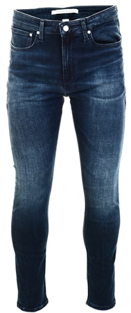 Calvin Klein Blue Black Ckj 016 Skinny Jeans  - Click to view a larger image