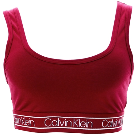 Calvin Klein Beet Red Reversible Bralette - Modern Flx  - Click to view a larger image