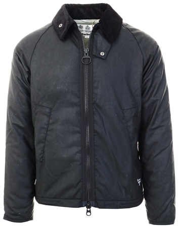 Barbour Beacon Black Winter Munro Waxed Cotton Jacket  - Click to view a larger image