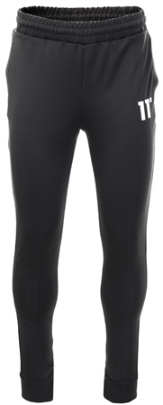 11degrees Black Core Poly Track Pants  - Click to view a larger image