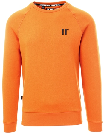 11degrees Rust Core Sweatshirt  - Click to view a larger image
