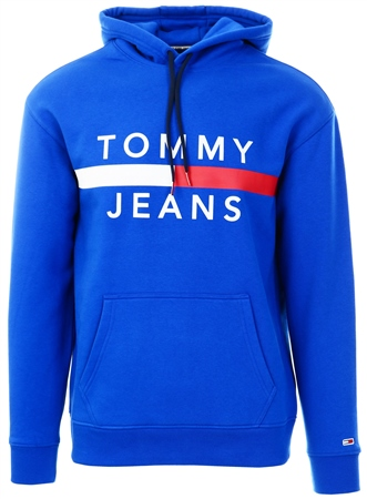 Tommy Jeans Surf The Web Reflective Flag Hoody  - Click to view a larger image