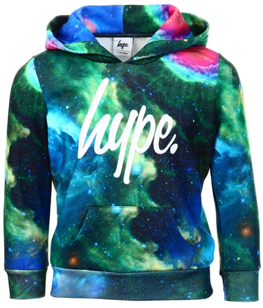 Hype Cosmic Vision Kids Pullover Hoodie  - Click to view a larger image