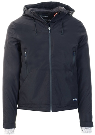 Superdry Black Arctic Elite Sd-Windcheater  - Click to view a larger image