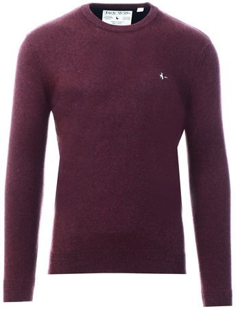 Jack Wills Damson Seabourne Crew Neck Jumper  - Click to view a larger image