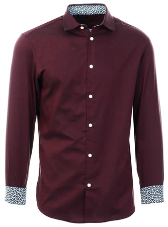 Selected Winetasting Slim Fit - Shirt  - Click to view a larger image