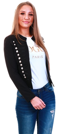 Cutie London Black Miltary Blazer  - Click to view a larger image
