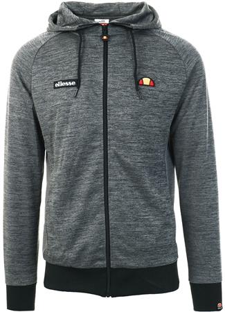 Ellesse Black Melzo Full Zip Hoody  - Click to view a larger image
