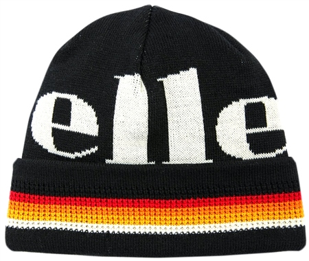 Ellesse Black Matina Beanie  - Click to view a larger image