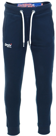 Superdry Eclipse Navy Orange Label Lite Joggers  - Click to view a larger image