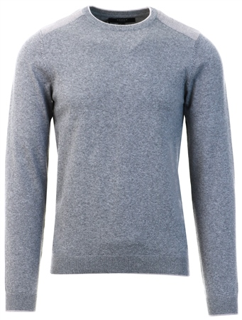 Broken Standard Grey Crew Knit Jumper  - Click to view a larger image