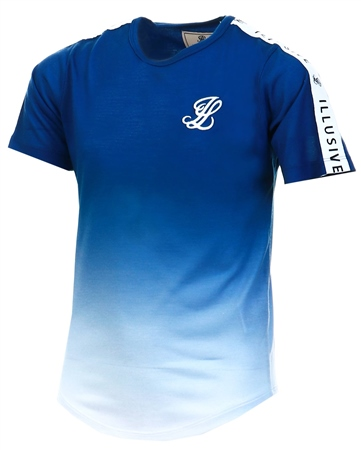 Illusive London Blue Tape Tee  - Click to view a larger image