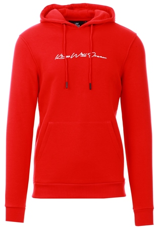 Kings Will Dream Red Morfin Overhead Hooded Top  - Click to view a larger image