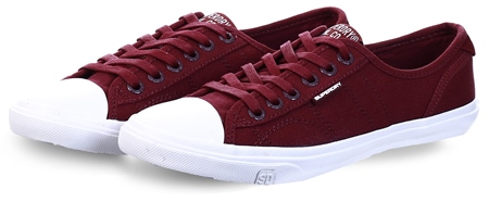 Superdry Deep Port Low Pro Classic Trainers  - Click to view a larger image