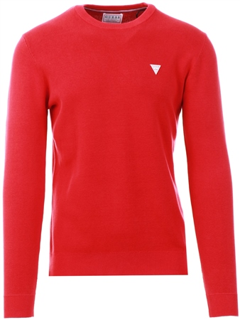 Guess Red Stone Wash Sweater  - Click to view a larger image