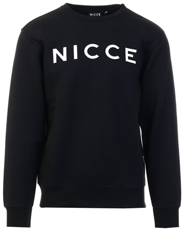 Nicce Black Origanl Logo Crew  - Click to view a larger image