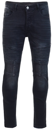 Kings Will Dream Black Lario Superslim Jean  - Click to view a larger image