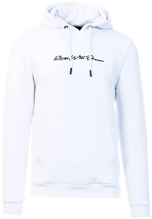 Kings Will Dream White Morfin Overhead Hooded Top  - Click to view a larger image