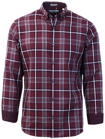 Jack & Jones Port Royale Checked Button-Down Shirt  - Click to view a larger image