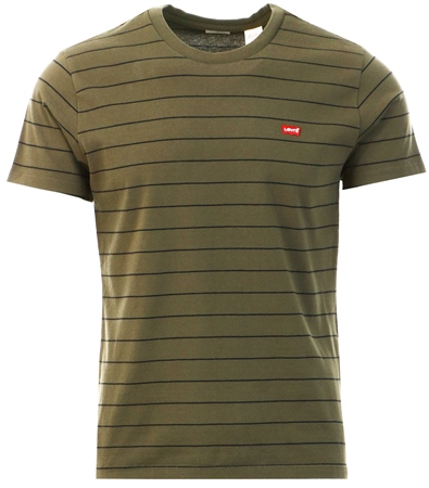 Levi's Olive Classic Hm Tee  - Click to view a larger image