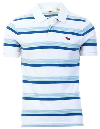 Levi's Skywing Stripped Polo Shirt  - Click to view a larger image