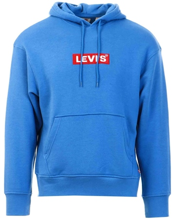 Levi's Bayside Terrace - Blue Relaxed Graphic Hoodie  - Click to view a larger image