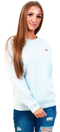 Levi's Baby Blue - Blue Relaxed Crewneck  - Click to view a larger image