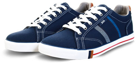 Xti Navy Canvas Trainer  - Click to view a larger image