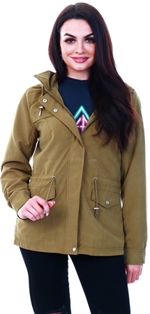 Only Green / Lizard Seasonal Parka  - Click to view a larger image