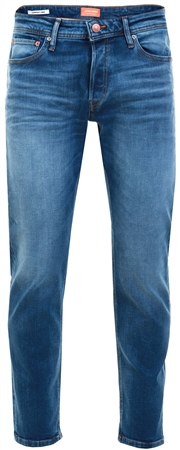 Jack & Jones Blue / Blue Denim Mike Original Jos 411 Comfort Fit Jeans  - Click to view a larger image