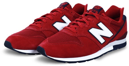 New Balance Scarlet With Eclipse 996 Mesh Trainer  - Click to view a larger image
