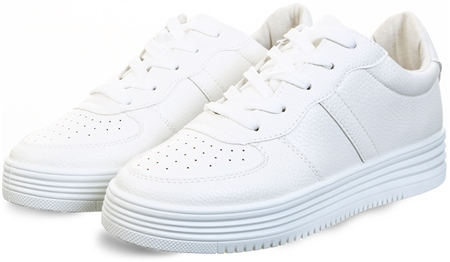 Krush White Chunky Trainer  - Click to view a larger image