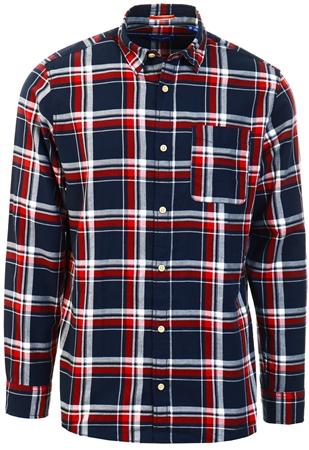 Jack & Jones Bossa Nova Plaid Long Sleeved Shirt  - Click to view a larger image