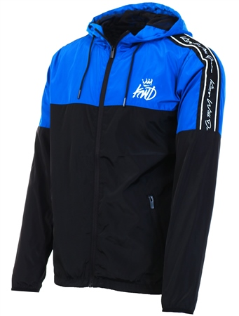 Kings Will Dream Blue/Black Barnton Windrunner Jacket  - Click to view a larger image