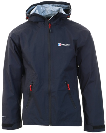 Berghaus Black Deluge Pro Waterproof Jacket  - Click to view a larger image