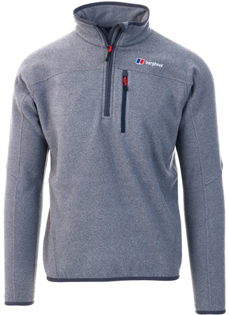 Berghaus Grey Stainton Half Zip Fleece  - Click to view a larger image