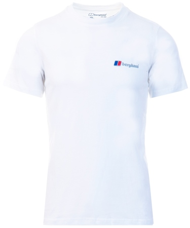 Berghaus White Corporate Logo Tee  - Click to view a larger image