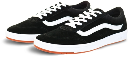 Vans Black/True White Staple Comfycush Cruze Shoes  - Click to view a larger image