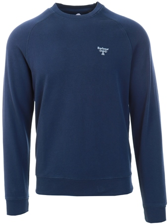 Barbour Beacon Navy Beacon Crew Sweat  - Click to view a larger image