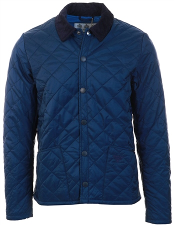 Barbour Beacon Navy Starling Quilt Jacket  - Click to view a larger image