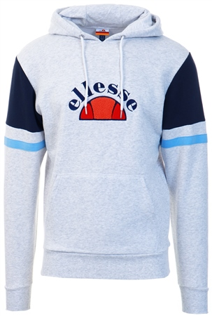 Ellesse Grey Petto Hoody  - Click to view a larger image