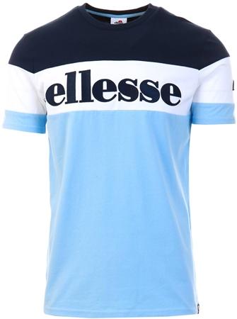 Ellesse Light Blue Punto Block T-Shirt  - Click to view a larger image